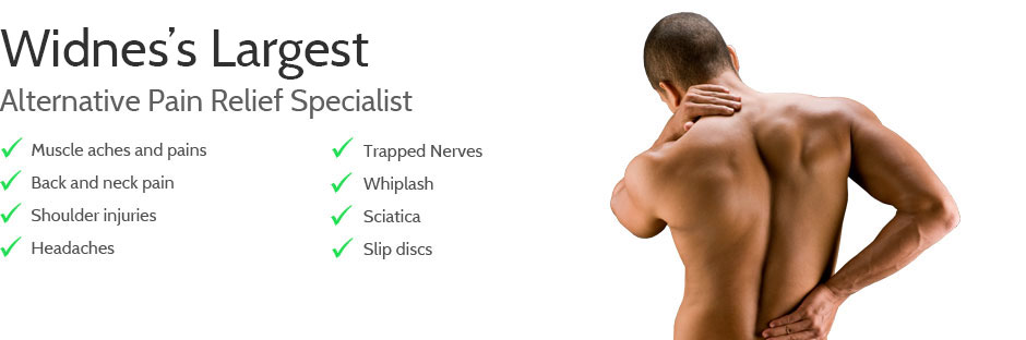 Liverpool's Largest Alternative Pain Relief Specialists