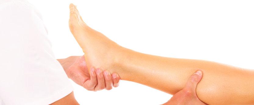 A Deep Tissue Sports Massage Demonstration in Widnes