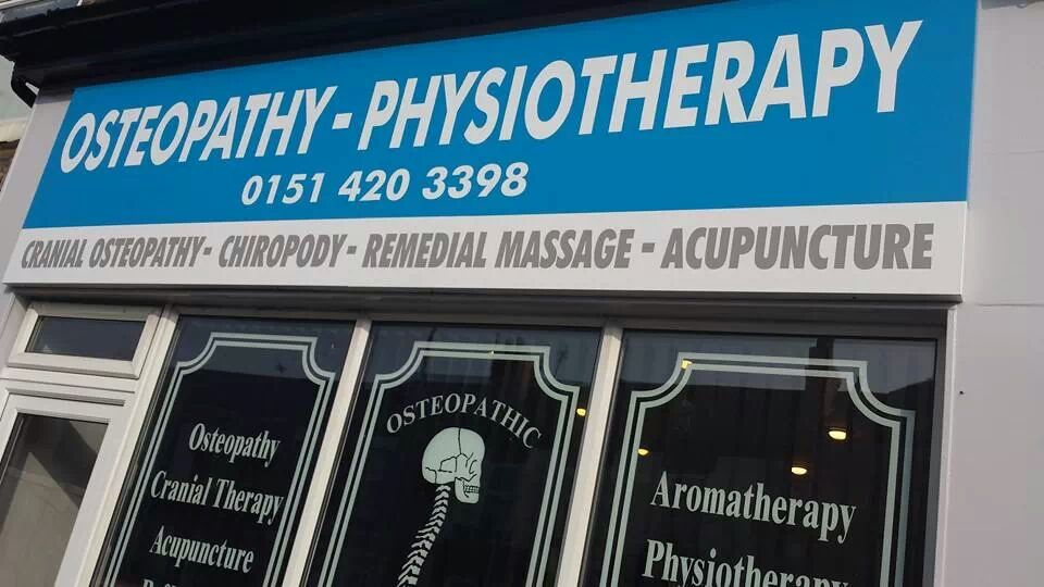 Widnes Osteopath Clinic Shop Front