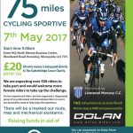 Widnes alternative health getting involved in Lancashire Lanes 75 miles cycle