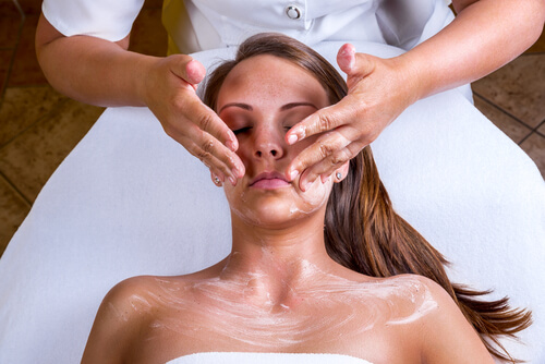 skin peel treatment